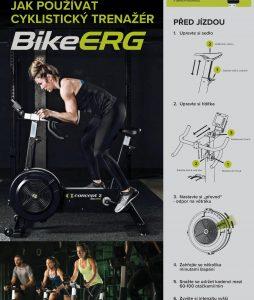 Jak používat cyklo trenažer BikeErg od Concept2